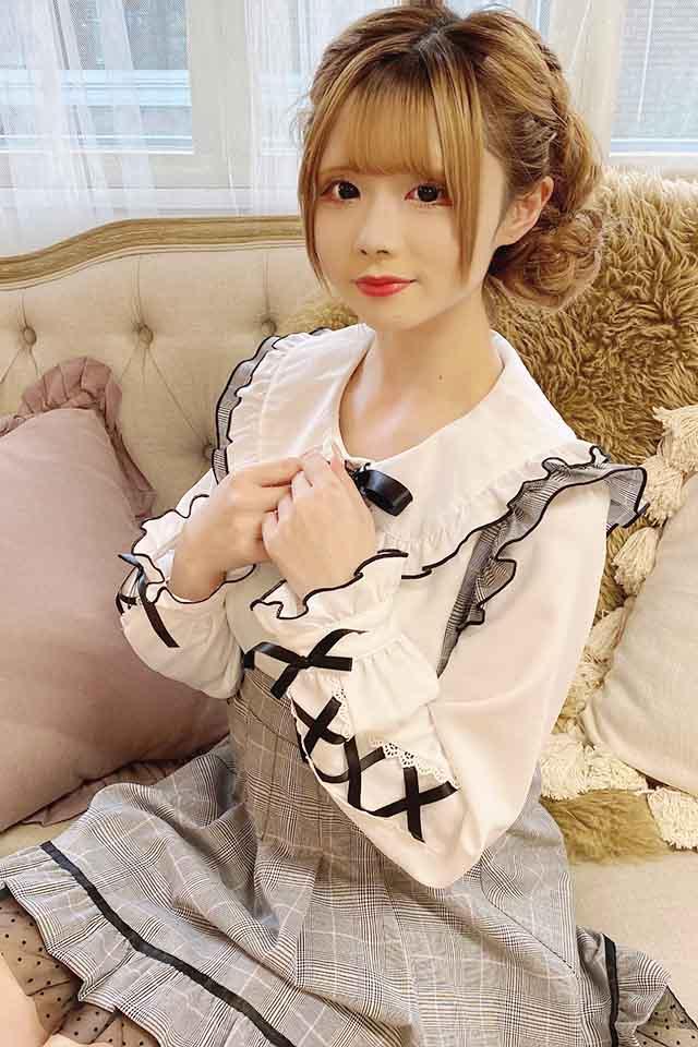 【MA*RS】袖スピンドル配色ブラウス - ホワイト size-F