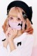 ☆53%OFF☆【Princess Melody】♪くまちゃんプリーツマスク♪ - ピンク size-F