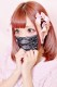 【Princess Melody】♪レース×おりぼんプリーツ ひんやりマスク♪ - PNK/ブラック size-F