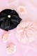 【Princess Melody】♪びっくレースおりぼんベレー帽♪ - ブラック size-F