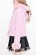 【MA*RS】袖ファーリボンフード付きショートコート - ピンク size-F