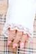 【Princess Melody】♪レイヤード風チェックワンピース♪ - ベージュ size-F