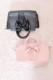 【MA*RS】2WAYサテンリボンBAG - ブラック size-F
