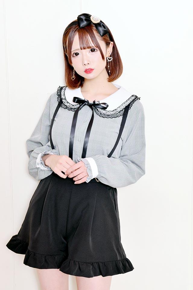 【MA*RS】ハートバックルショートパンツ - ブラック size-F