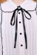 【MA*RS】リボン付きメローブラウス - ホワイト size-F