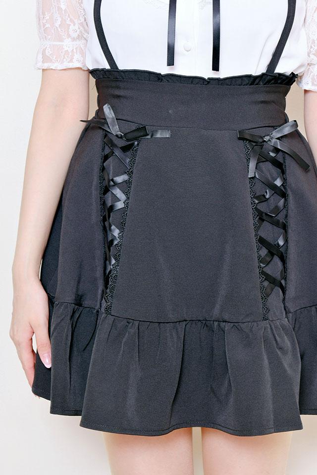 【MA*RS】スピンドルフレアスカート - ブラック size-F
