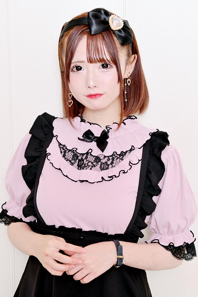 【MA*RS】ネックフリルヨークTOPS - ピンク size-F