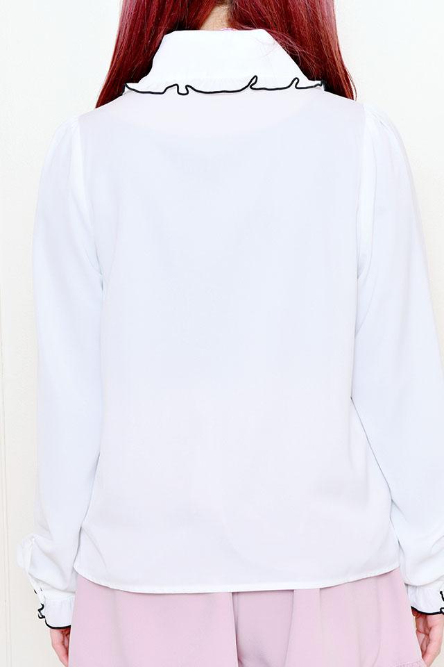 【MA*RS】2つリボンブラウス - ホワイト size-F