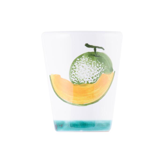 陶器グラス メロン グリーン