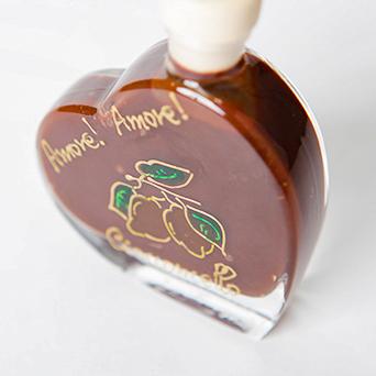 チョコチェッロ メッセージボトル ハート「あなたに幸せを!」 50ml