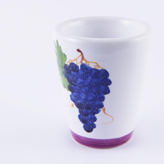陶器グラス ぶどう