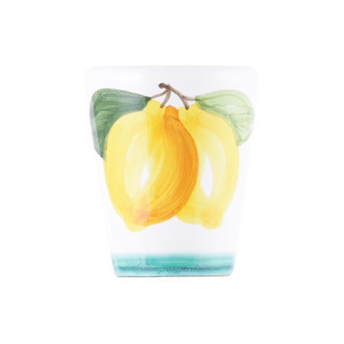 陶器グラス レモン 緑