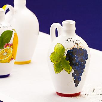 【残り8本!】陶器ボトル ぶどう
