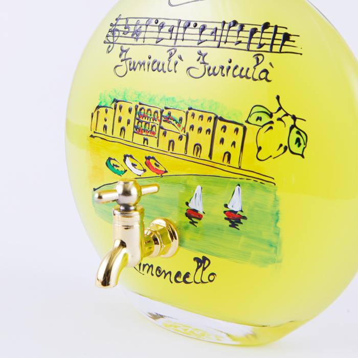 【残り12点!】リモンチェッロ 音楽サーバー「フニクリフニクラ」 500ml