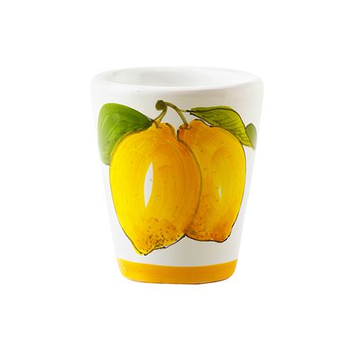 【約28%off】リモンチェッロ イタリア 40ml&陶器グラスセット