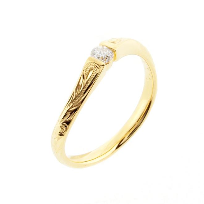 Wave Ties Ring - Marriage 010