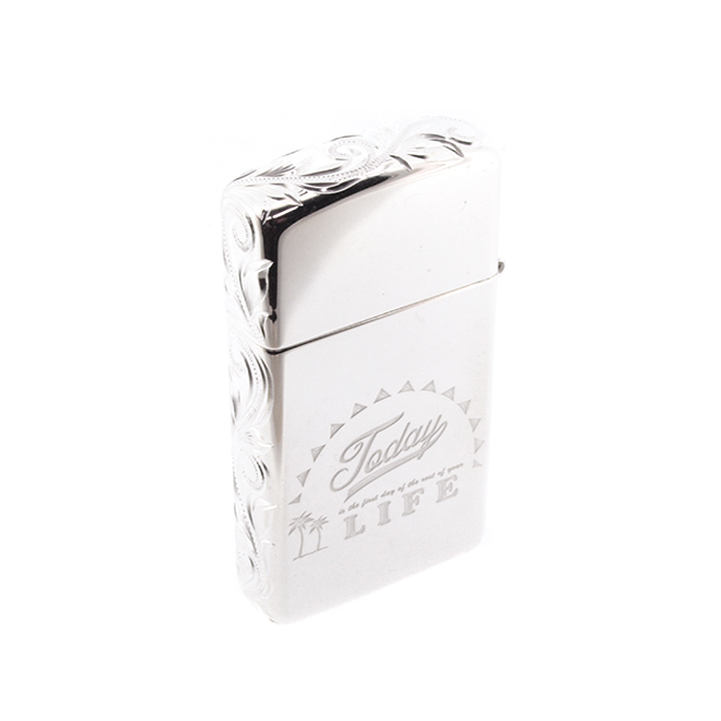 Linamoa Zippo-small / Today is the first day of the rest of your life.ハワイアンジュエリー ジッポーライター