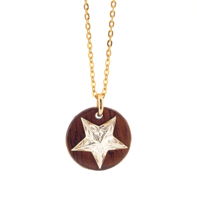 Star Frame Necklace