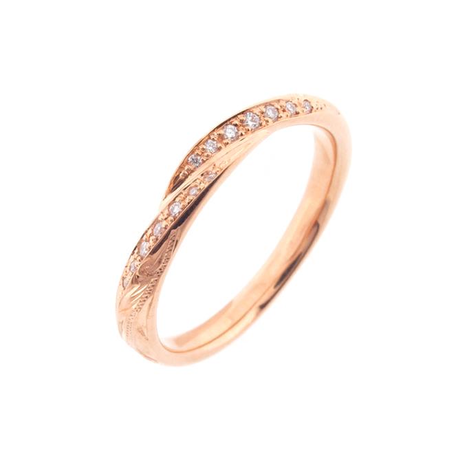 Wave Ties Ring - Marriage 014