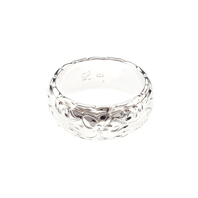 Ke aloha Ring / Wave edge ハワイアンジュエリー リング 指輪