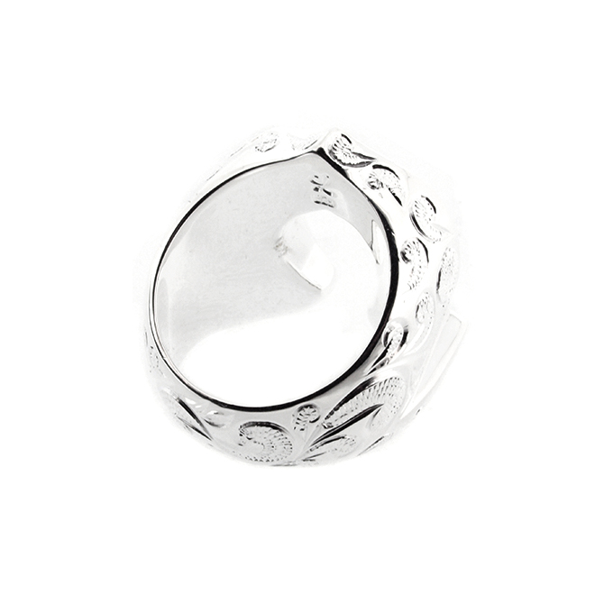 Horse Shoe Wave Ring ハワイアンジュエリー ホースシューリング 馬蹄 指輪