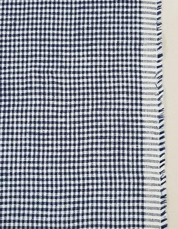 ディエップ・ミニギンガム:White/Navy(量産用)