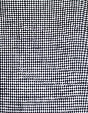 ディエップ・ミニギンガム:White/Black(着分用)