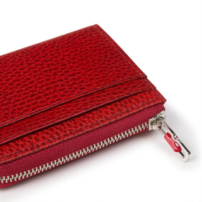 理(ことわり)II ファスナー小銭入付二つ折り財布
