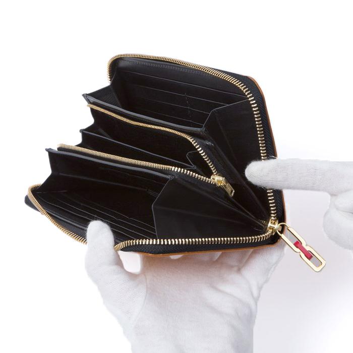 匠(たくみ)ラウンドファスナー長財布