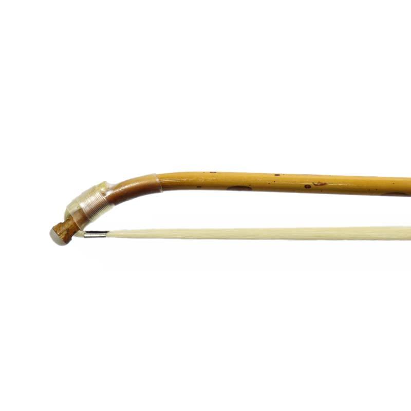 二胡用弓 斑竹(湘妃竹)風 クリア塗装