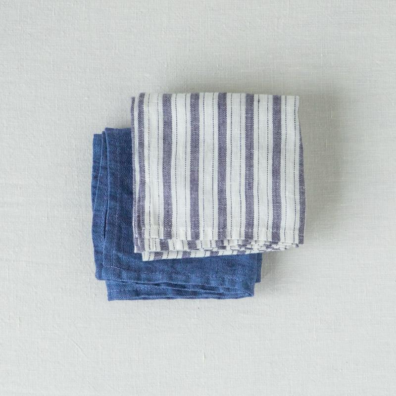 ハンカチ ブルーセット