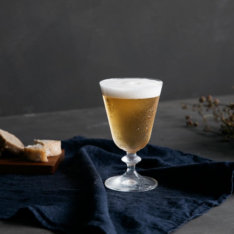 ワイングラス&小皿セット