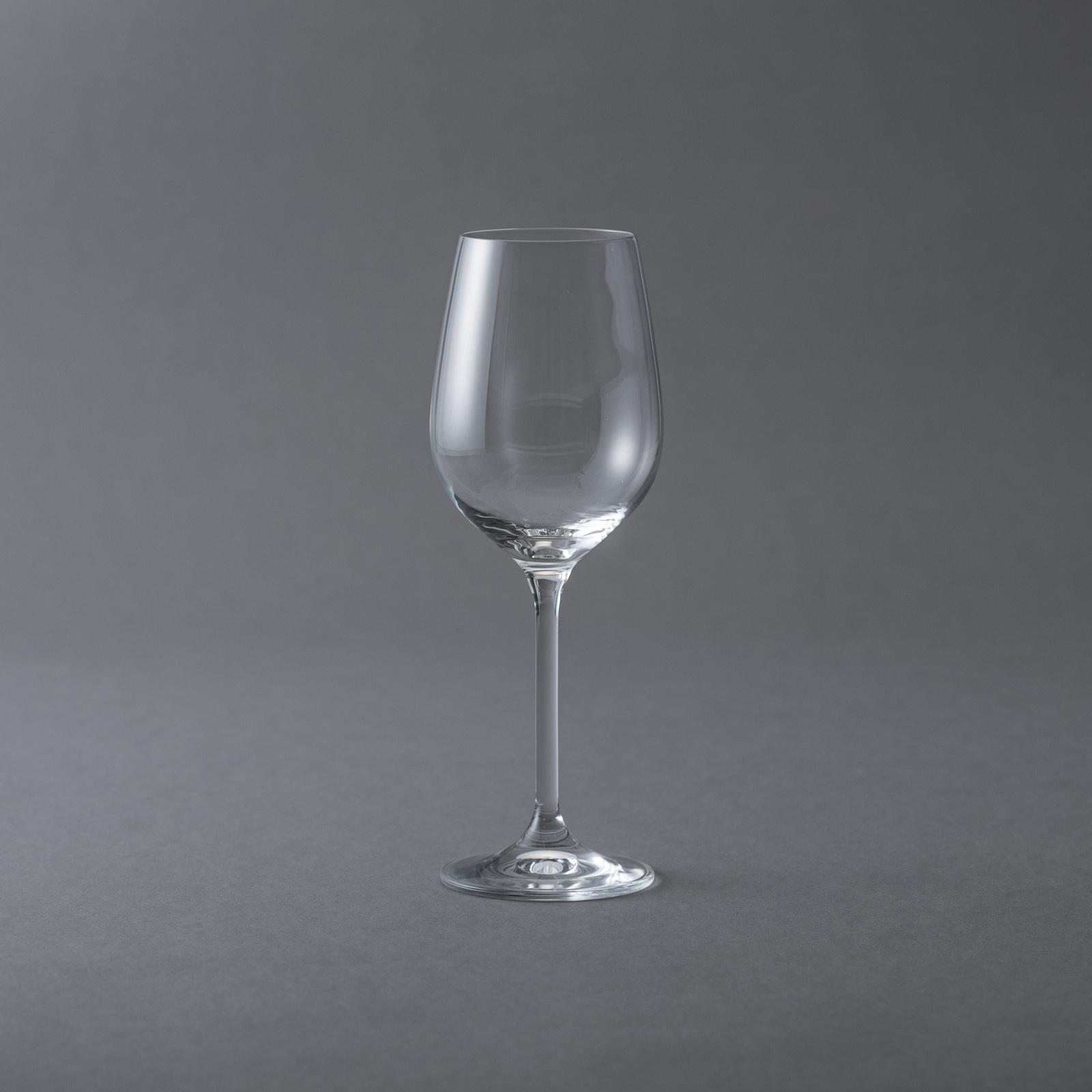 BOHEMIA Cristal _ グラングルメ / ワイングラス(350ml) ホワイト