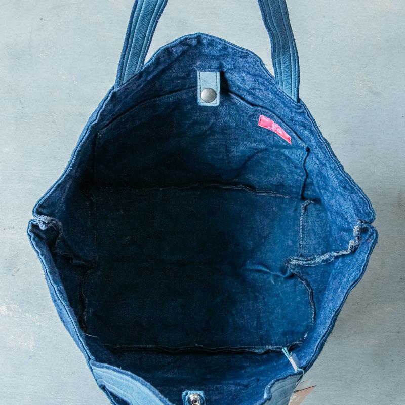 SUD イタリア製トートバッグ _ ブルー