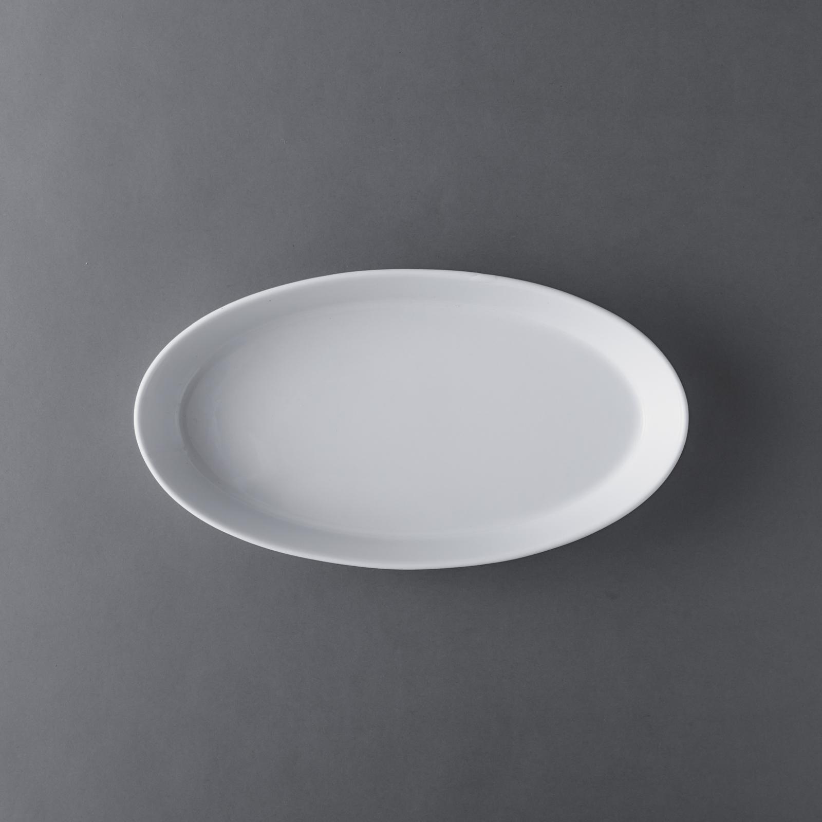 PILLIVUYT _ オーバル ソールディッシュ 31.4×17cm