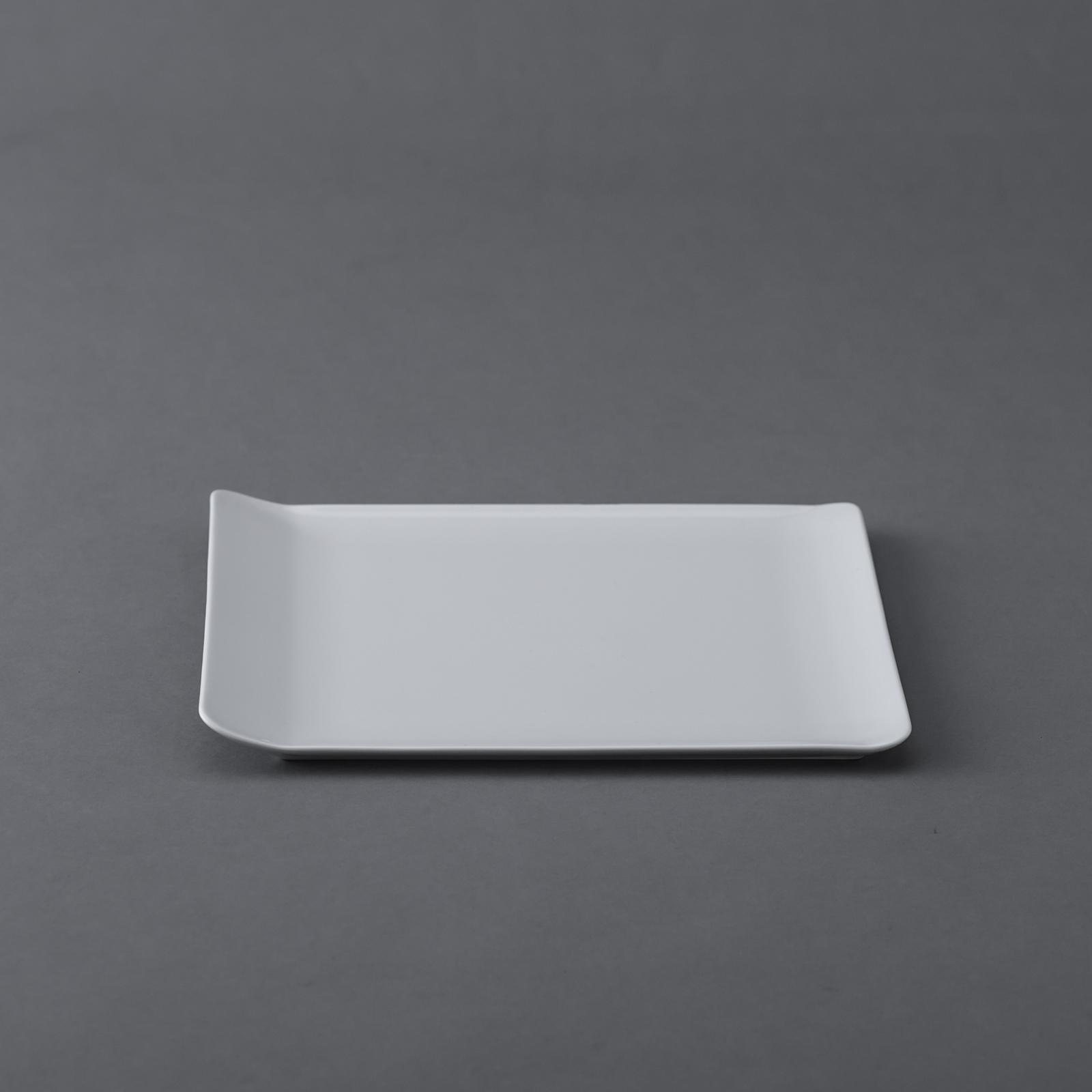 PILLIVUYT _ ヴァンドーム スクエアプレート 21×20cm