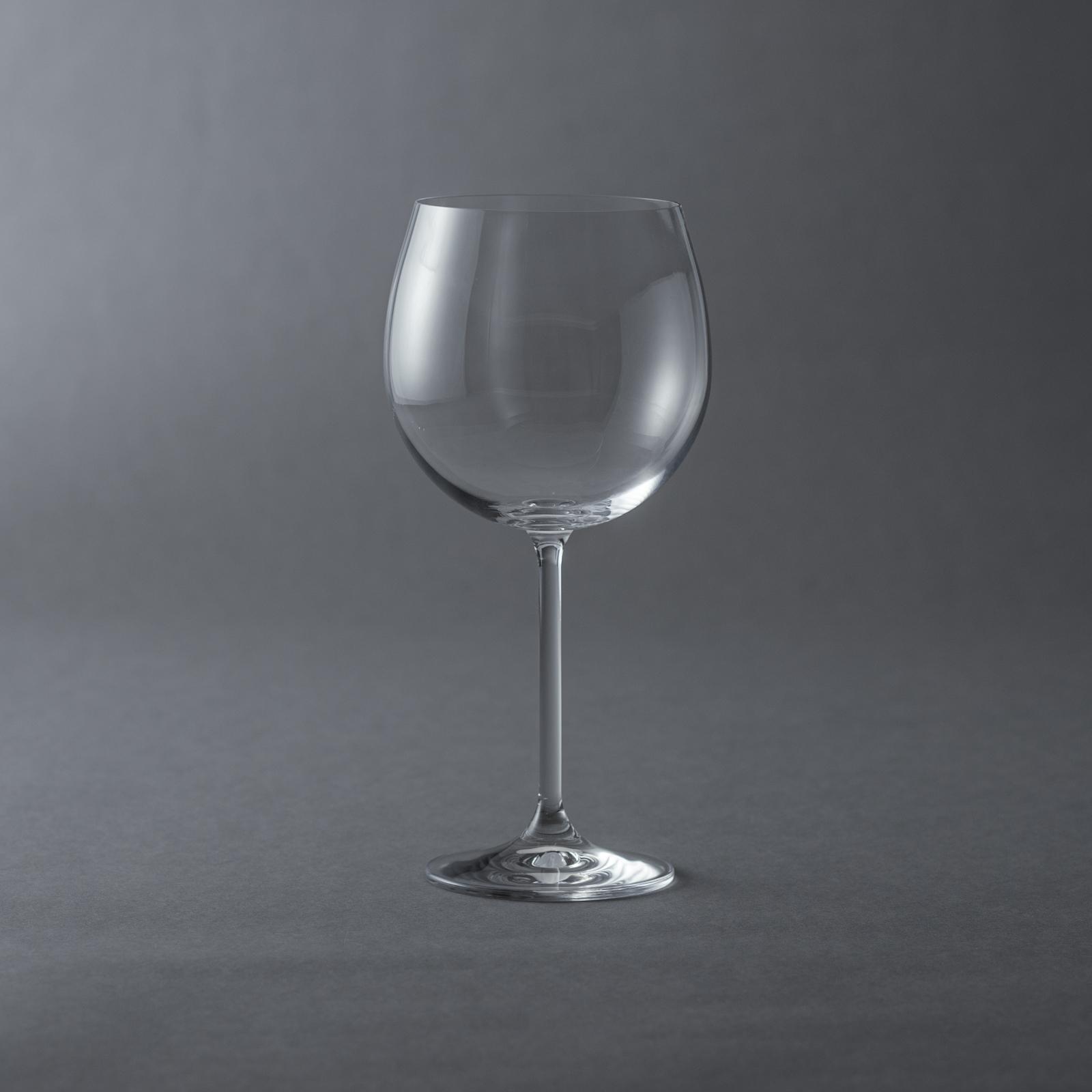 BOHEMIA Cristal _ ナタリー / ワイングラス・ブルゴーニュ(600ml) レッド