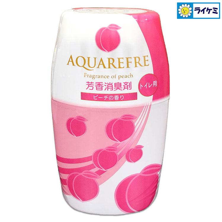 アクアリフレ芳香消臭剤 トイレ用 ピーチの香り