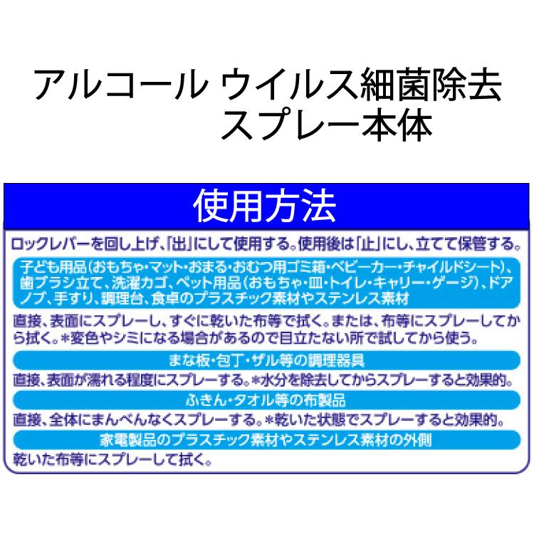 【送料無料】ウイルス対策セット アルコール 消毒 スプレー 除菌 感染症対策 抗菌