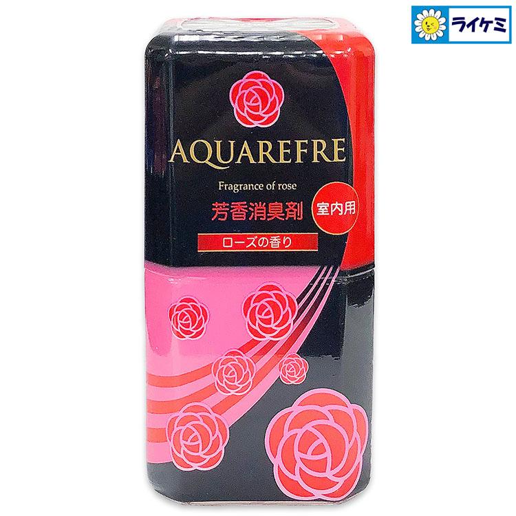 【送料無料】アクアリフレ芳香消臭剤 20本入 5種類の香り 森林/ローズ/シャボン/シトラス/無香