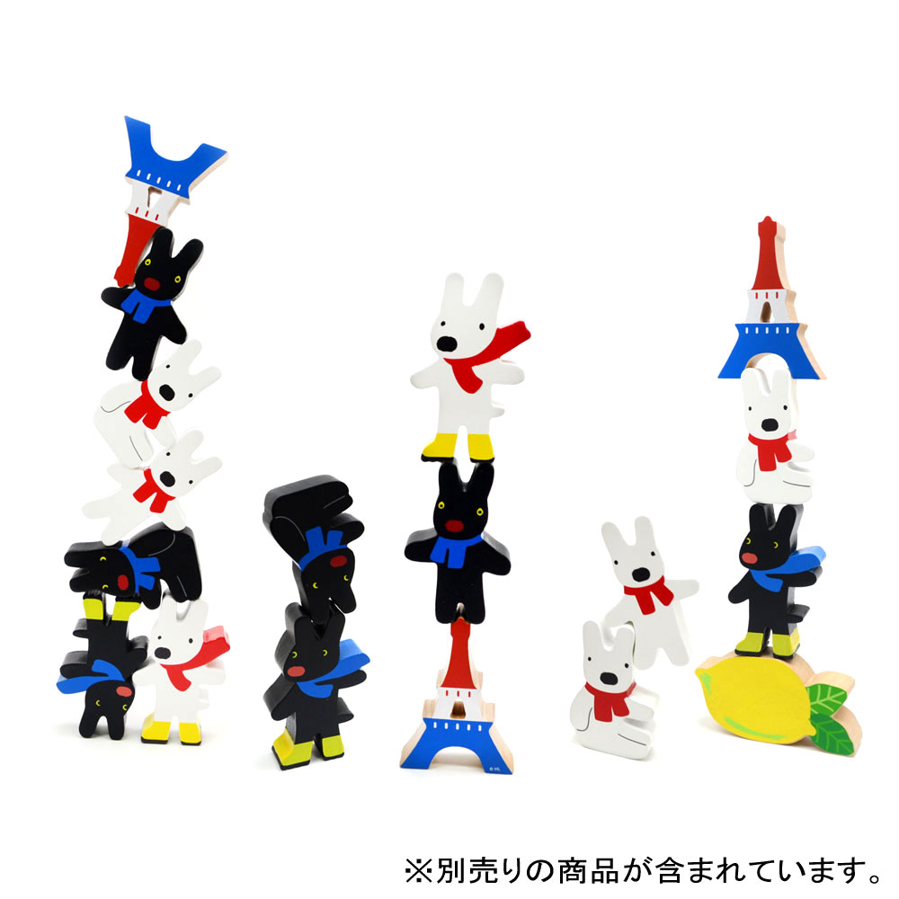 絵本のつみき(エッフェル塔セット) TM-LGS-0201【ライブエンタープライズ】 LG