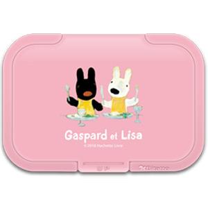 ウェットシートふた Bitatto (ピンク)  LG