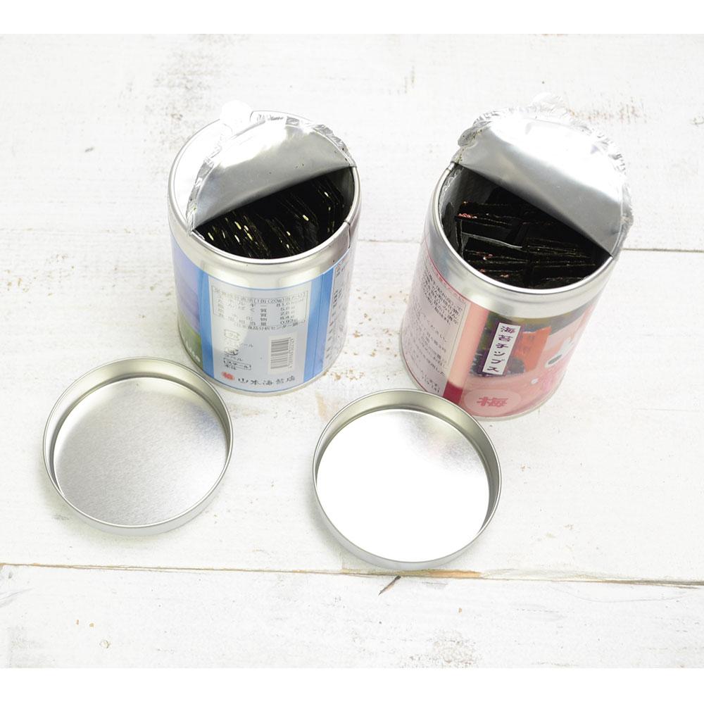 【山本海苔店×リサとガスパール】のりチップス2缶セット(ごま味・うめ味)  LG