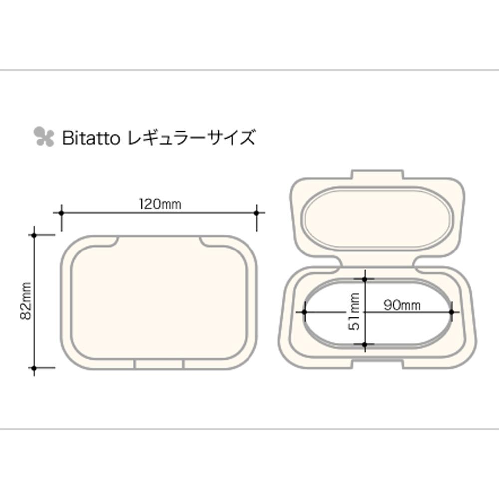 ウェットシートふた Bitatto (ライトブルー)  LG