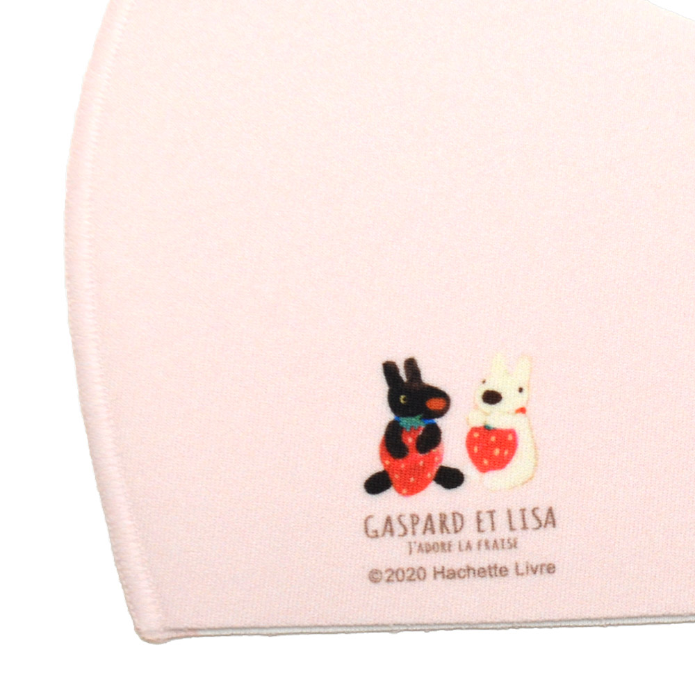 【公式ショップ限定】抗菌マスク(いちご)レッド LG