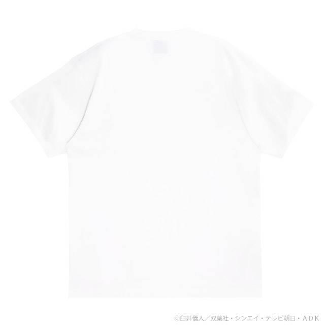 【7/31(土)発売:予約受付中】 野原家ビッグTシャツ 【WHITE】 /クレヨンしんちゃん×リッスンフレーバー