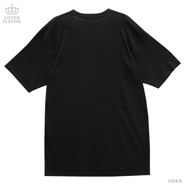 マミ on Stage BIG Tシャツ【BLACK】 /魔法の天使クリィミーマミ×リッスンフレーバー [原宿系ファッション]