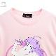 マミ on Stage BIG Tシャツ【L.PINK】 /魔法の天使クリィミーマミ×リッスンフレーバー [原宿系ファッション]