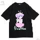ピンクドレスの魔法の天使 BIG Tシャツ【BLACK】 /魔法の天使クリィミーマミ×リッスンフレーバー [原宿系ファッション]