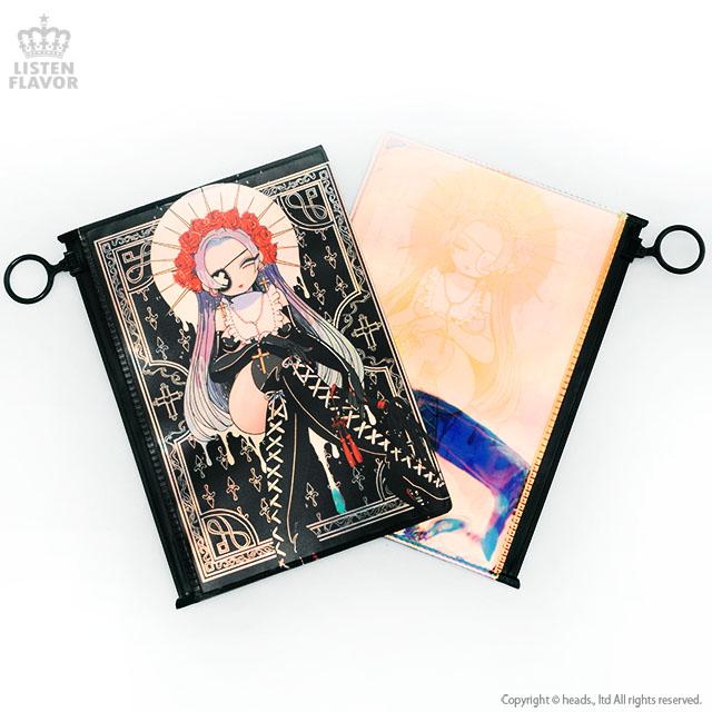 Holy girl ポーチ 【BLACK】/Yummy! [原宿系ファッション]